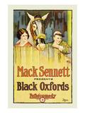 Black Oxfords Art by Mack Sennett