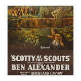 Scotty of the Scouts - Quicksand Canyon Print