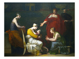 Andromache and Astyanax Poster by Pierre Paul Prud'hon