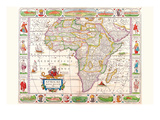 Africa Prints by Vincenzo Coronelli