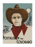 "In Colorado ""Postkusken Fra Colorado"" Posters"