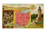 Ohio Premium Giclee Print by  Arbuckle Brothers