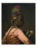 Bashi-Bazouk Ottoman Soldier Art by Jean Leon Gerome