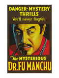 The Mysterious Dr. Fu Manchu Prints