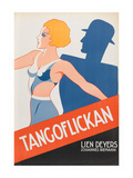 "Tango Movies ""Tangoflickan"" Print"