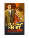 Broadway Nights Prints