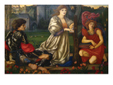 The Love Song Prints by Sir Edward Coley Burne-Jones