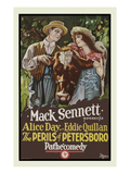 The Perils of Petersboro Premium Giclee Print by Mack Sennett