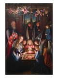 Adoration of the Christ Child Posters af Jan Joest of Kalkar (Follower of)