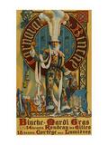 Belgian Mardi Gras Poster Prints