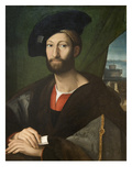 Giuliano Di Medici, Duke of Nemour Poster by After Raphael