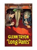 Long Pants Print