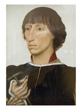 Francesco D'Este (Born About 1430, Died after 1475) Kunstdrucke von Rogier van der Weyden