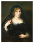 Portrait of a Woman, Susanna Lunden, Froument Posters by Peter Paul Rubens