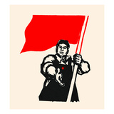 Join the Red Movement Prints by  Chinese Government