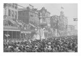 """New Orleans, La., Mardi Gras Day, the """"Red"""" Pageant Posters"""