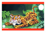 Pouncing Tiger Posters
