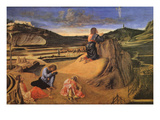 Christ at the Mount of Olives Premium Giclee Print by Giovanni Bellini