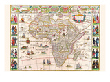 Afryka Reprodukcje autor Willem Janszoon Blaeu