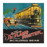 Flame Fighter - Scalding Seas Posters