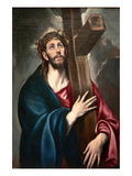 Christ Carrying the Cross by Greco Arte por  El Greco