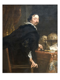 Lucas Van Uffel Poster von Anthony Van Dyck