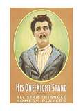 His One Night Stand Posters