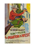 The Phantom of the West - Canyon of Calamity Prints