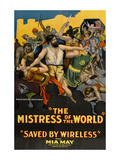 The Mistress of the World - Saved by Wireless Posters