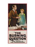 The Burning Question Posters