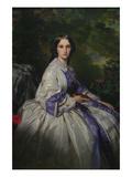 Countess Alexander Nikolaevitch Lamsdorff (Née Maria Ivanovna Beck, 1835–1866) Poster by Franz Xaver Winterhalter