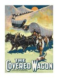 The Covered Wagon Premium Giclee Print