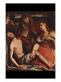 Christ and Maria Magdalena Plakat af Agnolo Bronzino