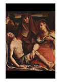 Christ and Maria Magdalena Print by Agnolo Bronzino
