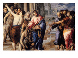 Christ Healing the Blind Prints by El Greco