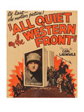 All Quiet on the Western Front Posters
