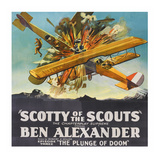 Scotty of the Scouts - Plunge of Doom Print