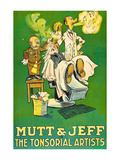 The Tonsorial Artists, Mutt and Jeff Poster