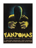 Phantoms &quot;Fantomas&quot; Kunstdrucke