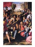 Le Christ portant la croix Posters par  Raphael