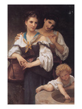 The Secret Prints by William Adolphe Bouguereau