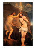Baptism of Christ Posters by Pieter Fransz. de Grebber