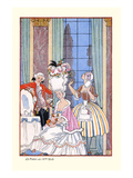 France in the 18th Century Prints by Georges Barbier