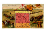 North Dakota Prints by  Arbuckle Brothers