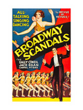 Broadway Scandals Posters
