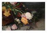 A Basket of Flowers Posters by Jan Brueghel the Younger