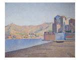 View of Collioure Imágenes por Paul Signac
