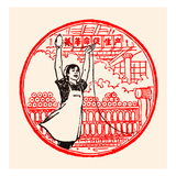 Female Textile Factory Worker Art by  Chinese Government