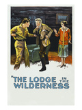 The Lodge in the Wilderness Art