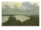 Over Eternal Tranquility Prints by Isaac Levitan